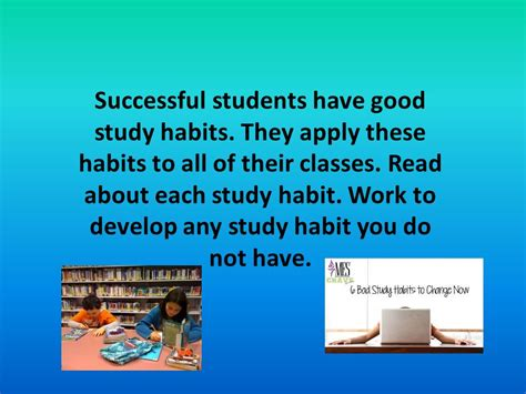Successful Student Essay by Essay About Study Habits Of Student