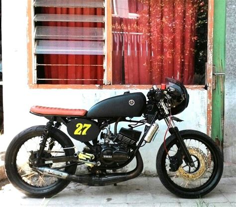 modif rx king retro yamaha rx king 135 cafe racer cafe racers