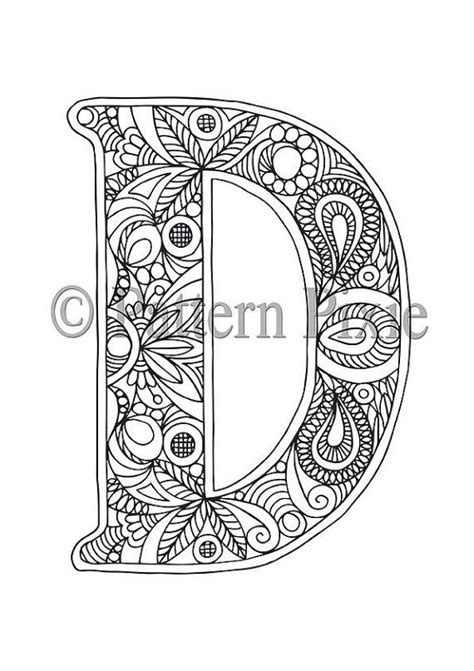 Letter C Coloring Pages For Adults by 605 Best Alphabet And Fonts Images On