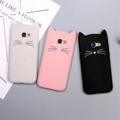 Samsung A3 2016 Nike Talk Is Cheap Casing Cover Hardcase animal phone for samsung galaxy a5 a3 2017 3d mustache cat silicone coque cover for