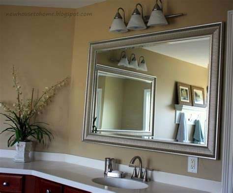 make your bathroom look with a bathroom wall mirror