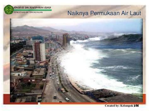 Pengetahuan Biologi Laut Amam Gwatle Kal atmosfer dan pencemaran udara