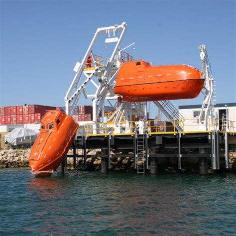free fall boats survitec freefall lifeboat