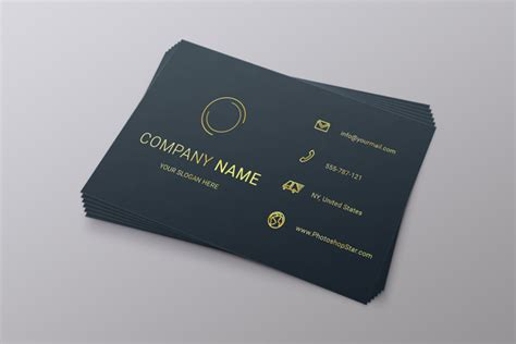 make name card how to make a business card in photoshop