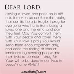 Comforting A Friend Who Lost A Loved One by Prayer Comfort With Loss Emotional Lord And Peace