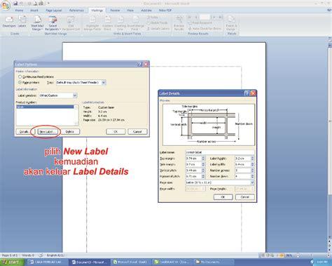 cara membuat label undangan pada ms word 2007 argaprima computer cara membuat label untuk daftar