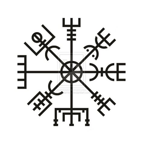 the gallery for gt vegvisir outline