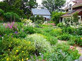 Landscape Ideas Cottage Cottage Garden Design Ideas Hgtv