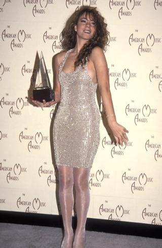 mariah carey 1992 mariah carey 1992 photos look back at the ama awards