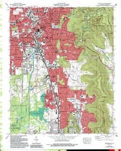 huntsville topographic map al usgs topo 34086f5