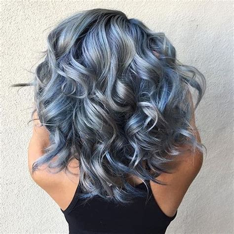 silver blue long hair pictures photos and images for facebook 10 trendy hair colors for summer 2017 to keep you cool