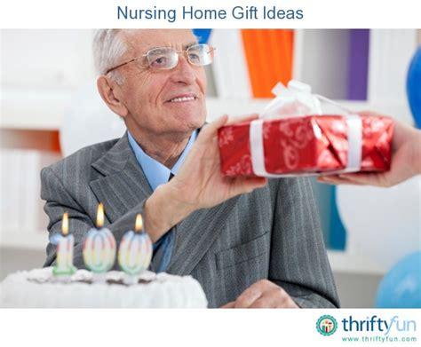 nursing home gift ideas thriftyfun