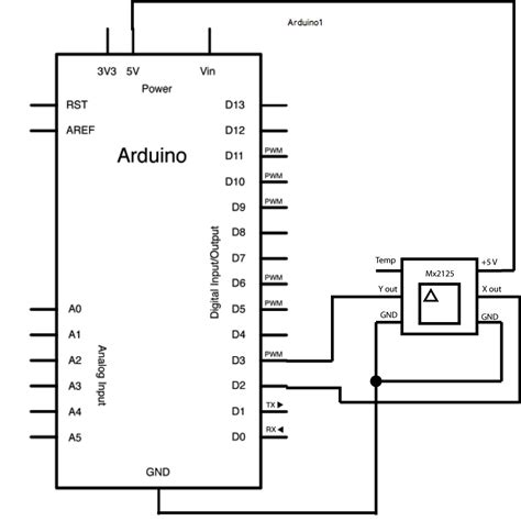 tutorial arduino accelerometer arduino memsic2125