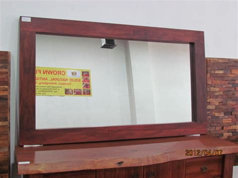 Cermin Krepyak Jati cermin jati 190cmx90cm crown furniture indonesia