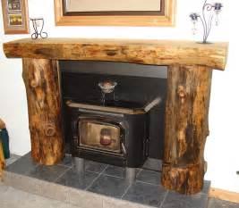 Log Surrounds Log Mantelpieces Accent Logs Log Handrails Log Home Furniture