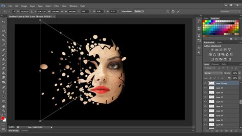 video tutorial edit photoshop interesting face manipulation photoshop tutorial