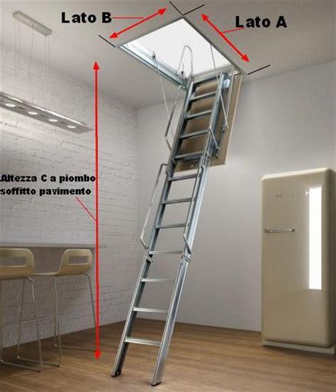 scala a scomparsa per soffitta scala scomparsa per soffitte o soppalchi