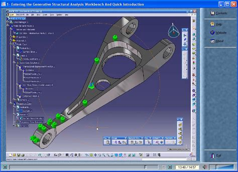tutorial video catia v5 catia v5 video tutorial structure analysis eng avaxhome