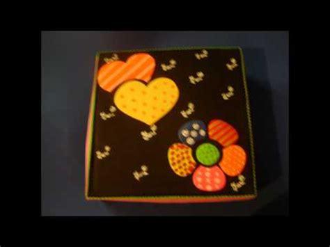 cajas en fomi para nias manualidades en foamy cajas organizadores y dulceros