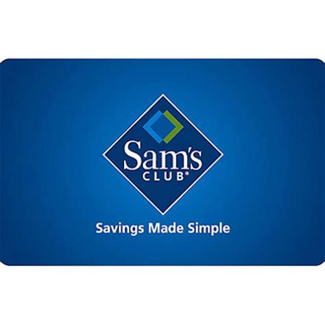 sam s club gift card various amounts sam s club - Samsclub Com Sams Gift Cards