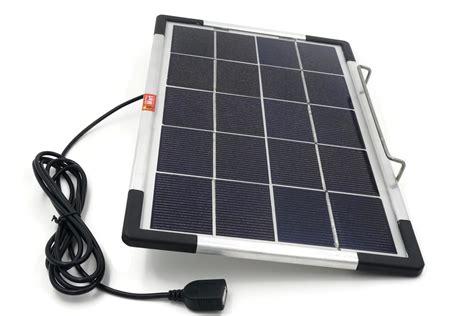 Lu Taman Solar Panel 6w usb solar panel diy solar power lighting kit ebay