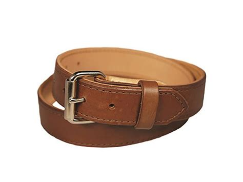 crossbreed classic gun belt 1 1 2 leather nickle buckle