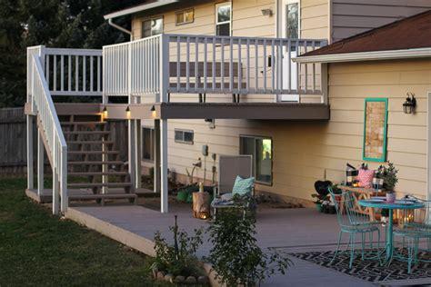 craft patch deck makeover  rocksolid deck resurfacer