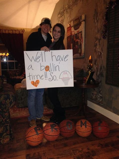 homecoming themes play a great way to ask your basketball boyfriend to your prom