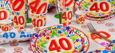 decorare tavola compleanno idee originali per decorare tavola festa 40 anni donne