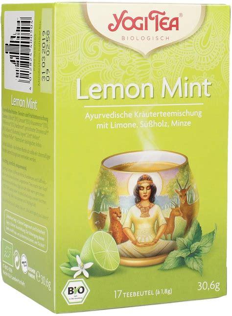 Sweet Slimming Detox Strawberries Mint Lime Tea by Lime Mint 17 Packages Yogi Tea Vitalabo Shop