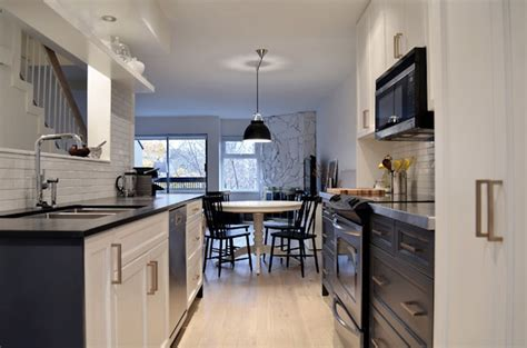 Cutler Kitchen by Two Tone Galley Kitchen Contemporary Kitchen Cutler