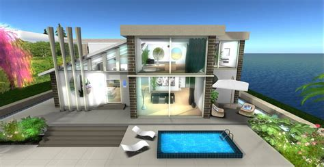 build homes online second life virtual worlds land