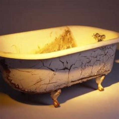 rust bathtub 48 best old porcelin bathtub water features images on