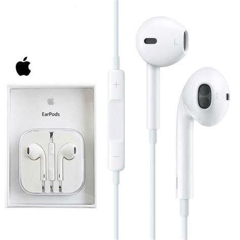Earpods Apple Original apple ecouteurs iphone 6 authentiques avec mini 3 5mm intra auriculaires compatibles avec