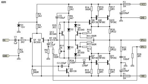 Pcb Tone Stereo Tr Plus Subwoofer Jrc4558 electro esp lificador de guitarra de 100w rms