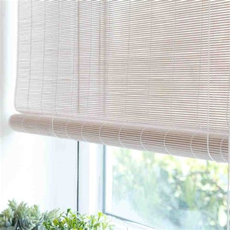 curtains blinds shades white bamboo blinds decor ideasdecor ideas