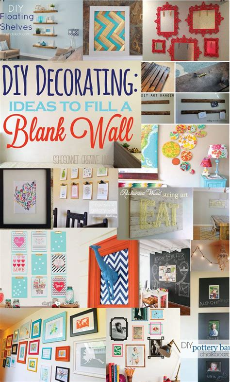 blank wall ideas bedroom 20 ideas to decorate a blank wall blank walls and diy