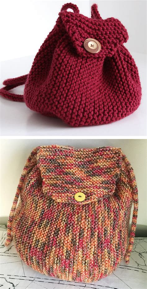 knitted backpack backpack knitting patterns in the loop knitting