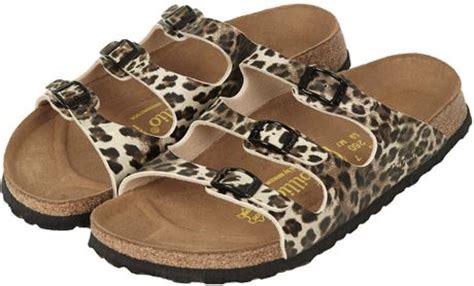 topshop leopard sandals topshop birkenstock florida sandals in animal true