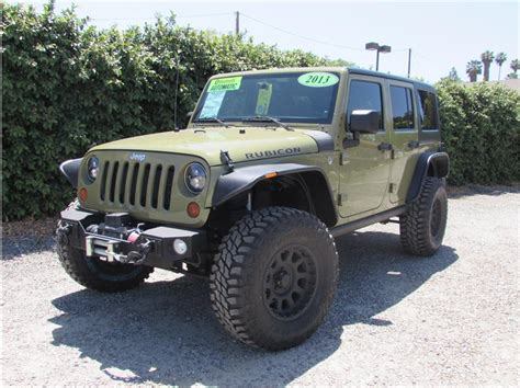 commando green jeep lifted 2013 jeep wrangler commando green