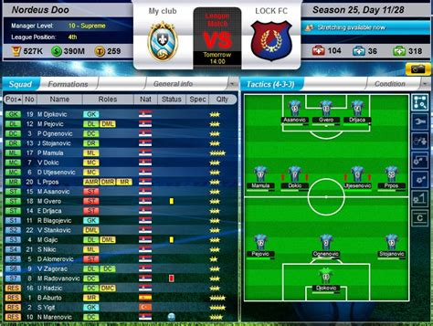 game top eleven mod for android android and facebook game reviews top eleven be a