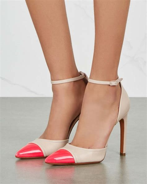 Two Tone Pumps givenchy two tone leather pumps shoes post