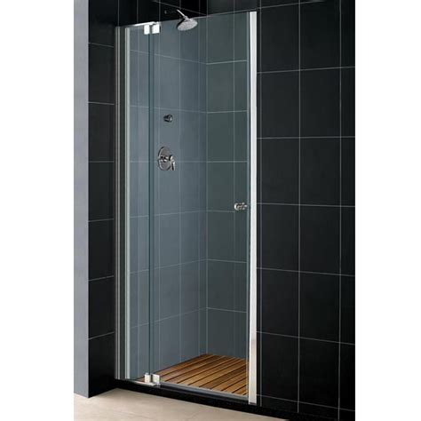 dreamline shower door dreamline single pivoting shower door various