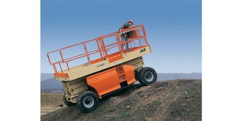 jlg engine powered rough terrain scissor lifts