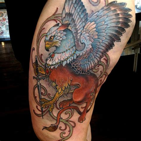griffin tattoo 15 best ideas about griffin on gryphon