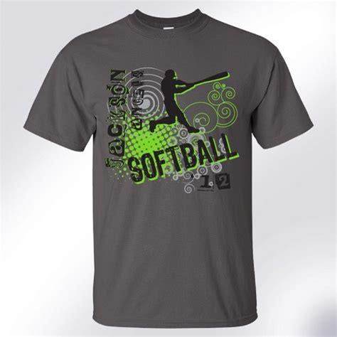 design a softball shirt softball design templates and t shirts