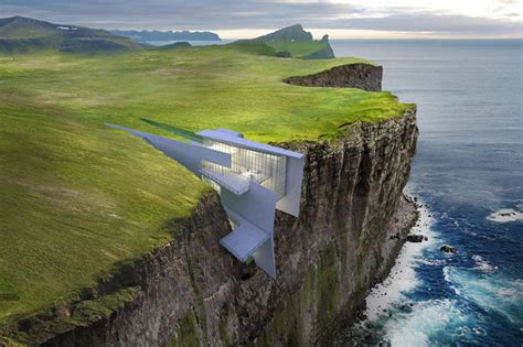 Modern Beach House Plans by Cliff Hotel With Breathtaking Sea Views Built Into Cliff