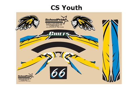 lacrosse helmet wrap template custom hybrid lacrosse helmet decal packages schoolpride 174
