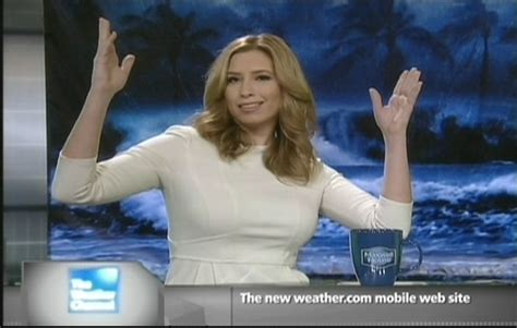 stephanie abrams is white hot weatherbabes posted by legsfan on january 10 2012