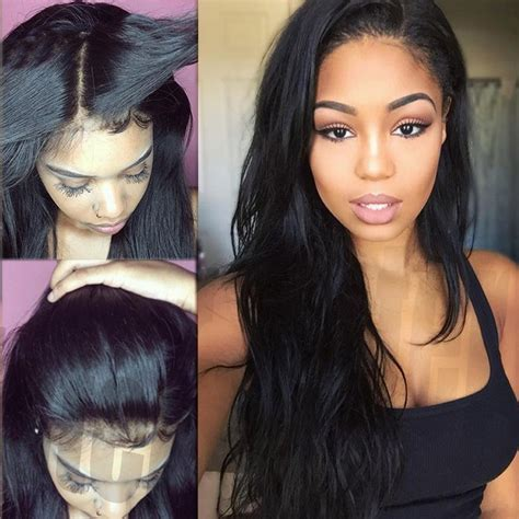 100 natural looking weave styles real thick 100 brazilian human hair silk full lace lace